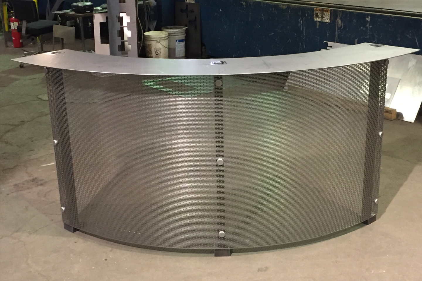 Curved Granite Support Frame