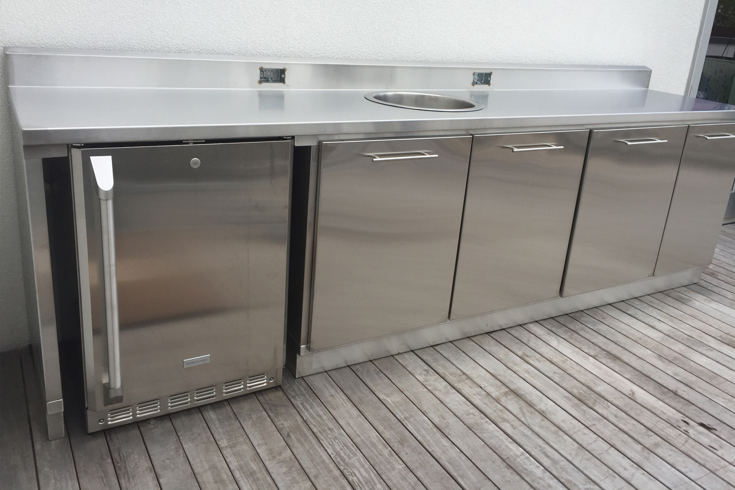 Rooftop Outdoor Kitchen Cabinet